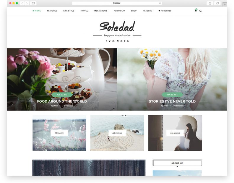 Soledad-creative-theme
