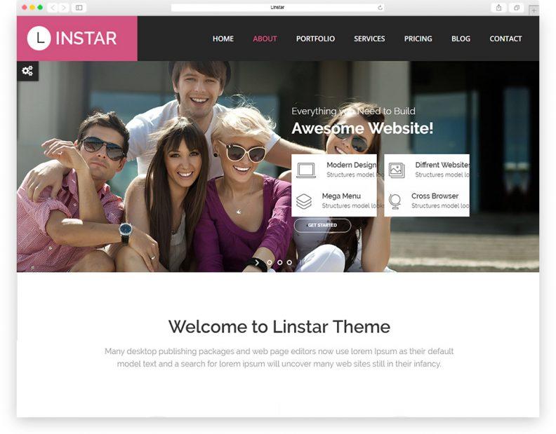linstar multipurpose theme