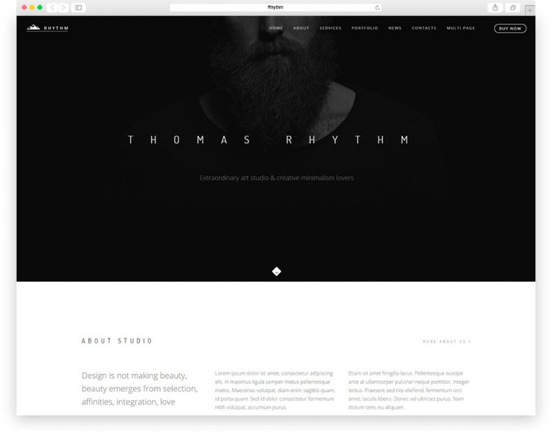 top 10 best dark wordpress themes for professional websites 2016