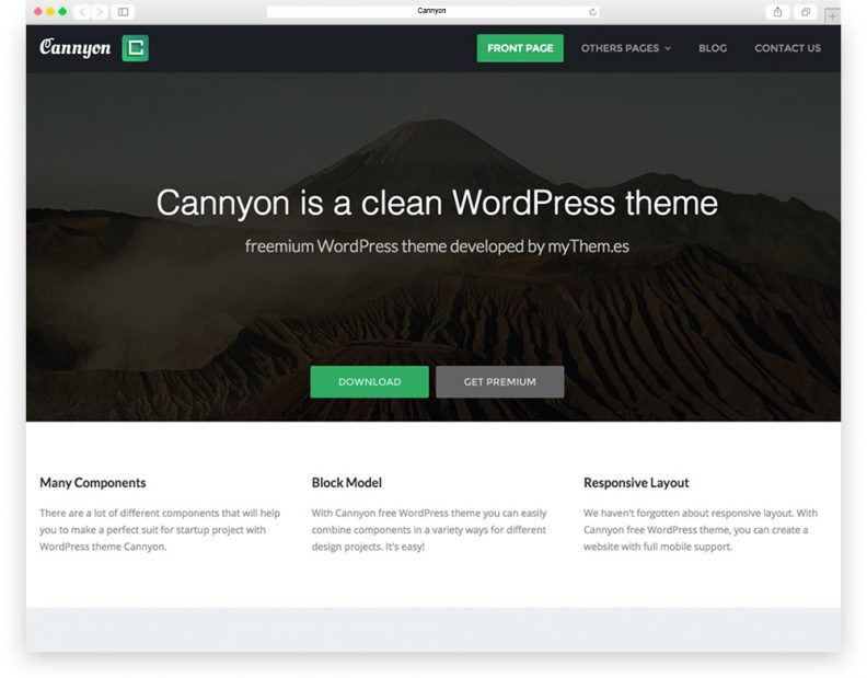 Top 15 Free Flat Design WordPress Themes for your Business Websites ...