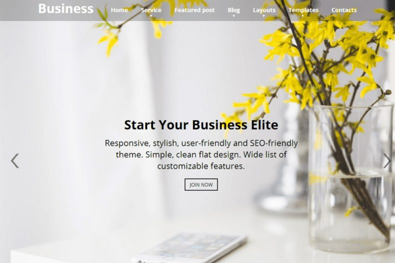 Top 15 Free Business WordPress Themes For Startups, Small & Medium ...
