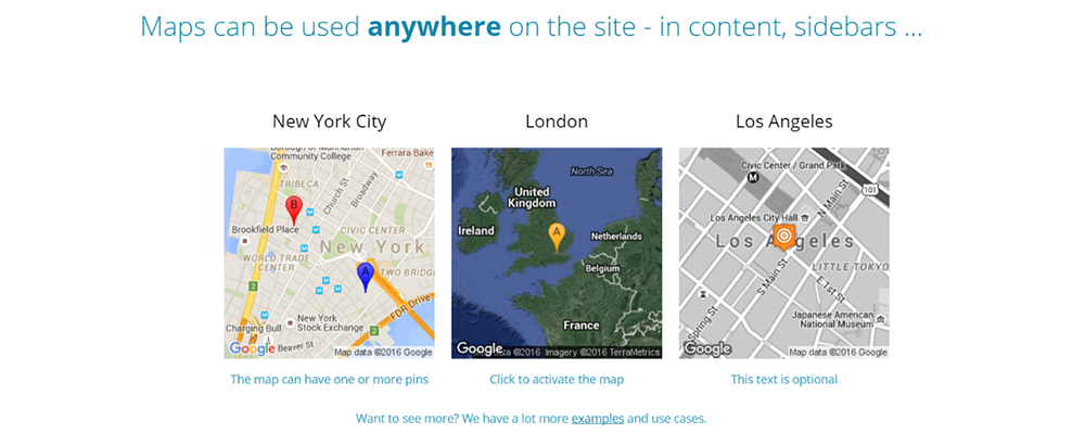 Top 10 best google maps plugins for wordpress of 2016 libthemes gumiabroncs Image collections