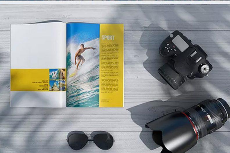 magazine-psd