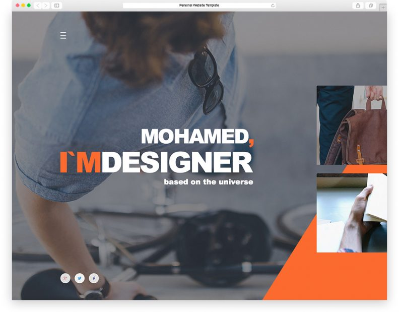 personal-website-template