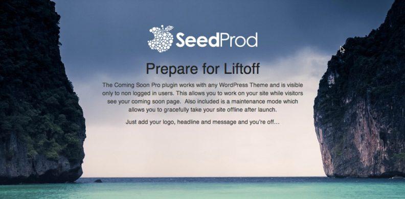 seedprod-maintenance