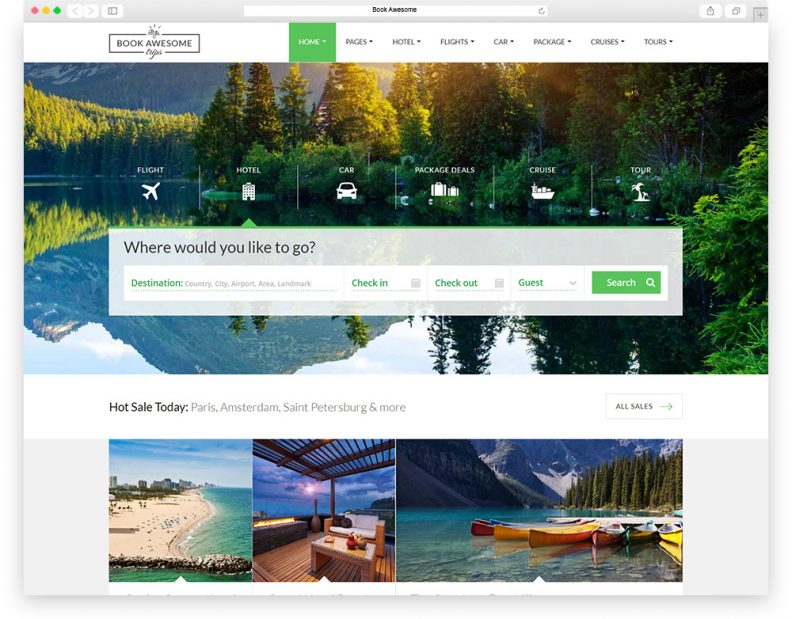 top 15 best travel html website templates 2016 edition libthemes. Black Bedroom Furniture Sets. Home Design Ideas