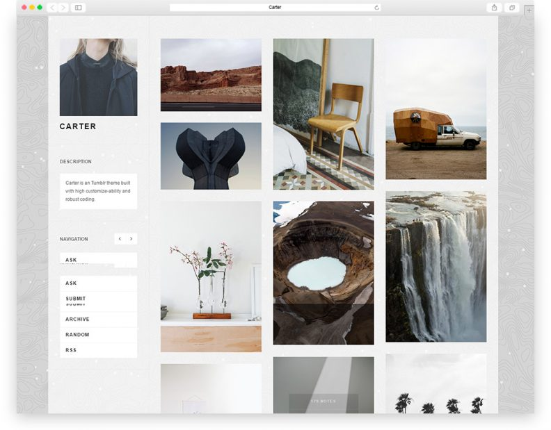 Top 20 Free Stunning Tumblr Themes For Your Next Website Projects