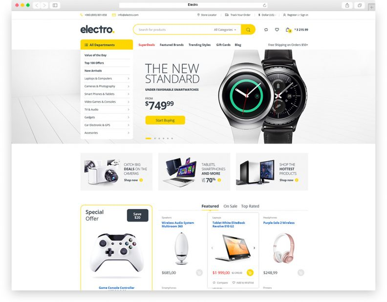 Top 15 Best Premium eCommerce PSD Templates for your Online Store ...