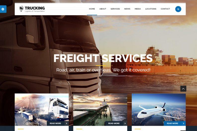 top 10 best transportation and logistics html website templates 2016
