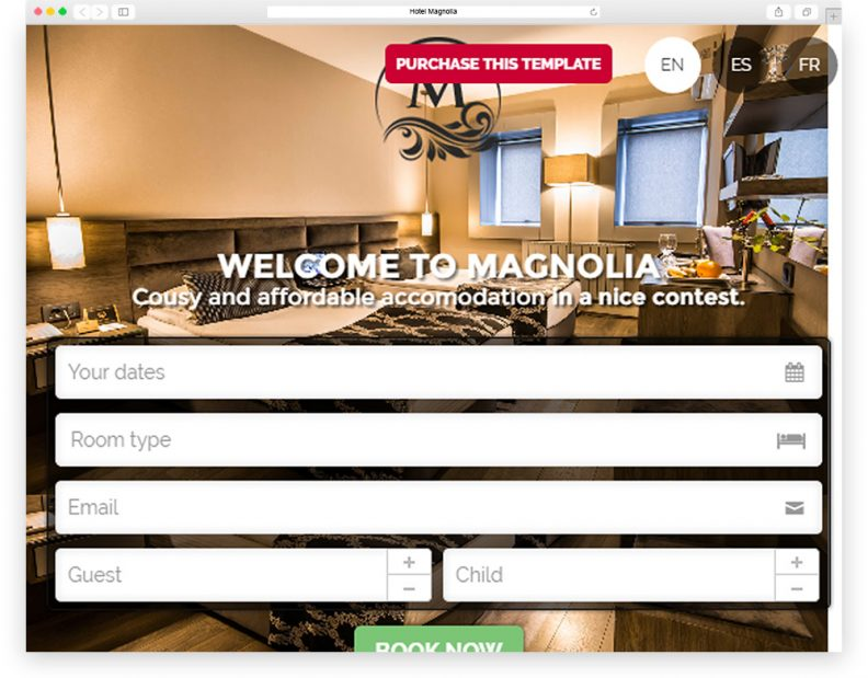 Top 15 Best Hotel HTML5 Website Templates 2016 Edition - Libthemes