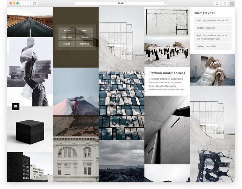 Top 20 Free Stunning Tumblr Themes For Your Next Website