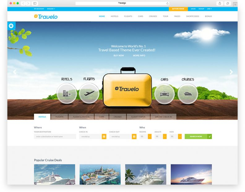 Top 15 Best Travel Html Website Templates 2016 Edition