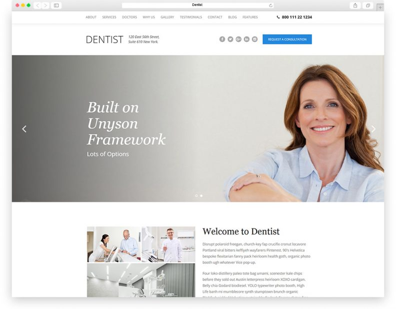 Top 10 Most Popular Dental WordPress Themes for Dentists and ...