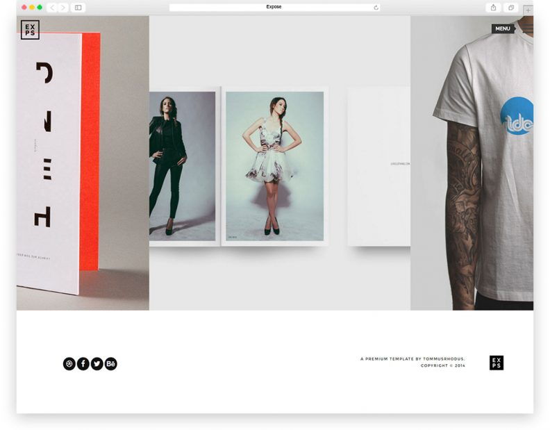 expose-creative-agency-theme