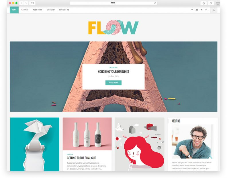 Top 10 Best Vibrant and Colorful WordPress Themes for Blog, Magazine ...