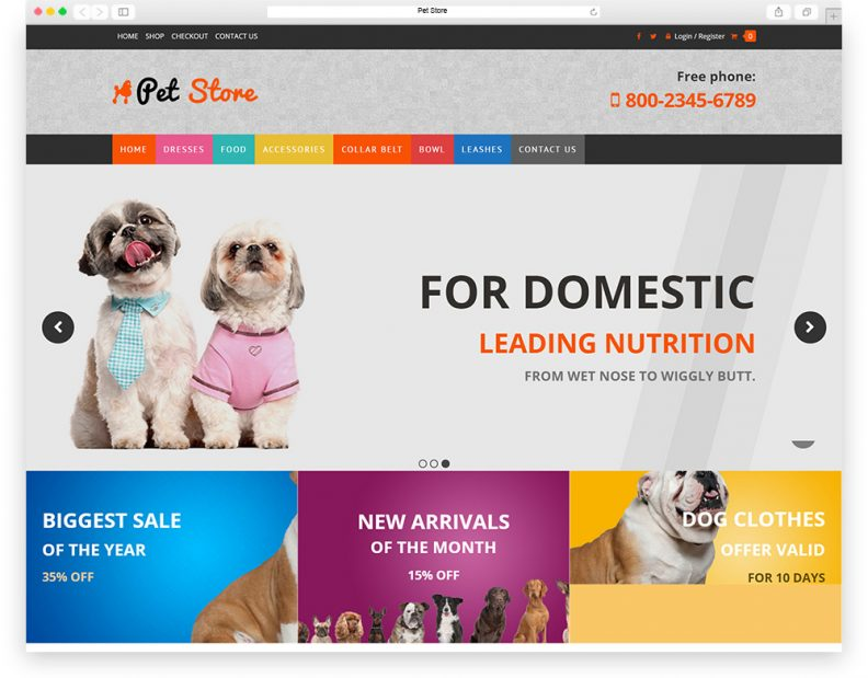 Top 15 Best Animal and Pets WordPress Themes 2019 - Libthemes