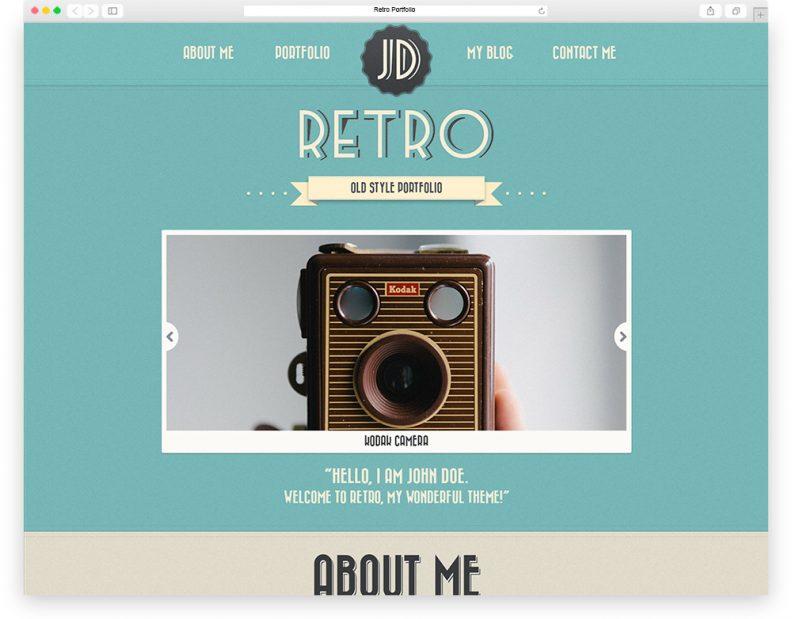 retro-portfolio