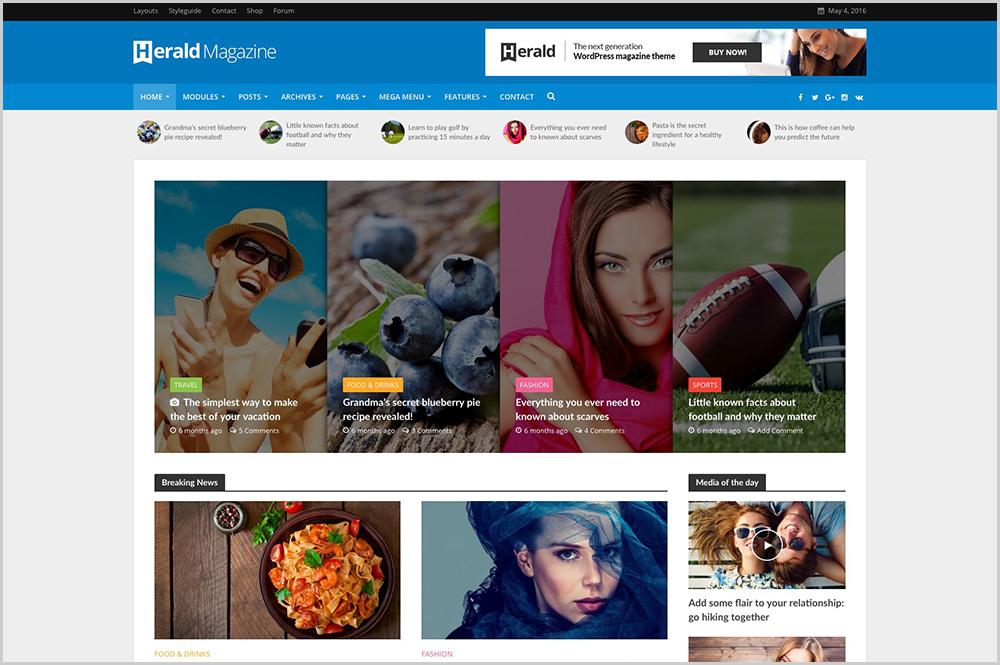 Top 15 Adsense WordPress Themes for Blog, Magazine and Busin